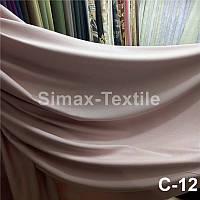 Лён портьерный набивной, ткань для штор, штора из льна, льняная штора, ткань для пошива штор