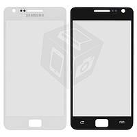 Защитное стекло корпуса для Samsung Galaxy S2 i9100, белое, оригинал