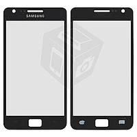 Защитное стекло корпуса для Samsung Galaxy S2 i9100, черное, оригинал
