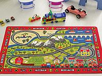 Коврик в детскую комнату Confetti Railway 100*150 см