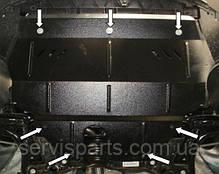 Защита двигателя Volkswagen Polo 2009- (Фольксваген Поло), фото 3
