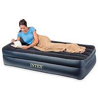 Велюровая кровать. Надувная