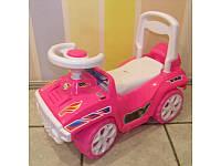 Машинка - толокар для катания Ориончик 419 Орион, розовая