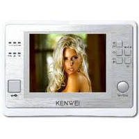 "Комплект видеодомофона Kenwei KW-730C 4"""