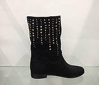Ботинки женские весна осень без каблука