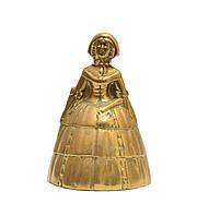 """Колокольчик, бронза, """"Девушка в Капоре"""", Англия, фото 1"""