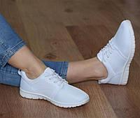 Спортивная женская обувь, кроссовки для спорта белого цвета