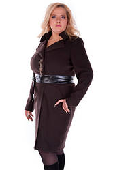 Жіночі пальта великих розмірів