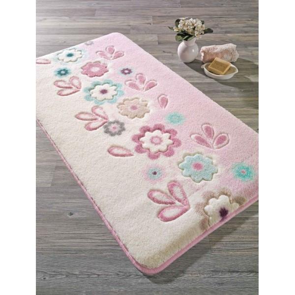 Коврик для ванной Confetti - April  57х100 см Розовый