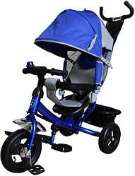 Трехколесный велосипед Велосипед Mini Trike 950D (синий с серым)