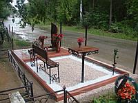 Благоустройство могил, фото 1