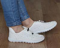 Спортивная женская обувь, кроссовки белого цвета