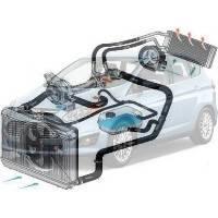 Система охлаждения Ford C-MAX Форд Ц-МАКС 2011--