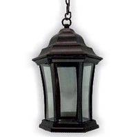 Уличный светильник Lemanso 60W PL чёрный на цепочке
