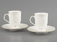 Набор чайный-кофейный Лате 4 предмета 250мл  Lefard 264-369