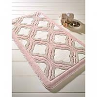 Коврик для ванной Confetti - Tiffany  57х100 см Пудра