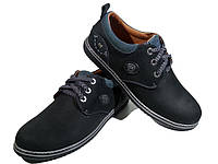 Туфли комфорт мужские натуральная кожа на шнуровке (Goriks 71)