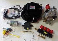 Комплект 4ц. STAG- 4 GO-FAST, ред. Atiker 140 л.с. (до 100 кВт), форс. GreenGas тип 37-3 Ом, ф. 11/11