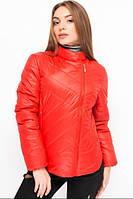Женская демисезонная стеганая куртка паркет АЛ18К