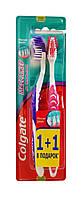 Зубные щетки Colgate Массажер для здоровья десен 1+1 средней жесткости