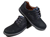 Туфли комфорт мужские натуральная кожа на шнуровке (Goriks 83)