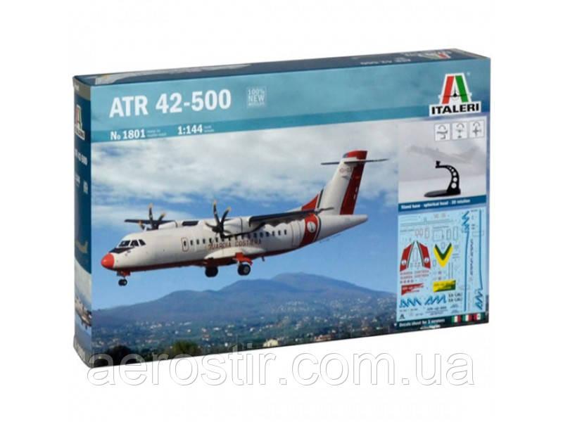 Сборная модель самолета  ' ATR 42-500 '      1\144        ITALERI