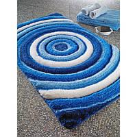 Коврик для ванной Confetti - Efesus  60х100 см Голубой