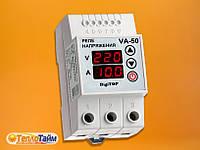 Реле напруги DigiTOP (обмежувач) V-protector VA-50A, (реле напряжения, ограничитель)