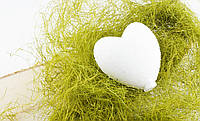 Сердце Пенопласт 80 мм крупный опт (1000 штук разных видов пенопластовых изделий)