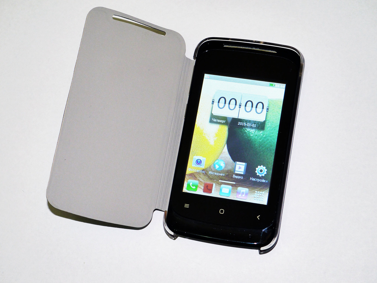 Телефон HTC G12i - 2Sim + 3,5'' емкостный + ЧЕХОЛ, фото 1