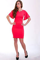 Нарядное платье со стильными воланами