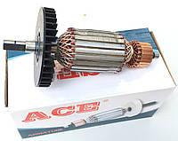 Якорь (ротор) цепной пилы Интерскол ПЦ 16 ( 170*46/ усеченный вал )