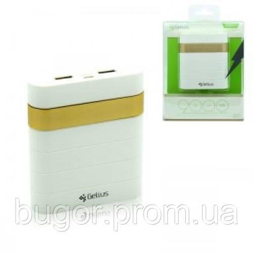 Дополнительная батарея Gelius GL-200 9000mAh 2,1A/2,1A Gold - интернет магазин Bugor в Киеве