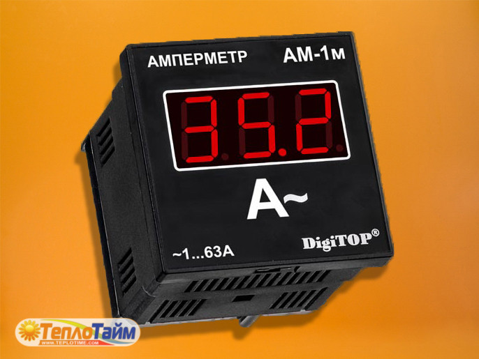 Амперметр DigiTOP 1ф Am-1 щитовий