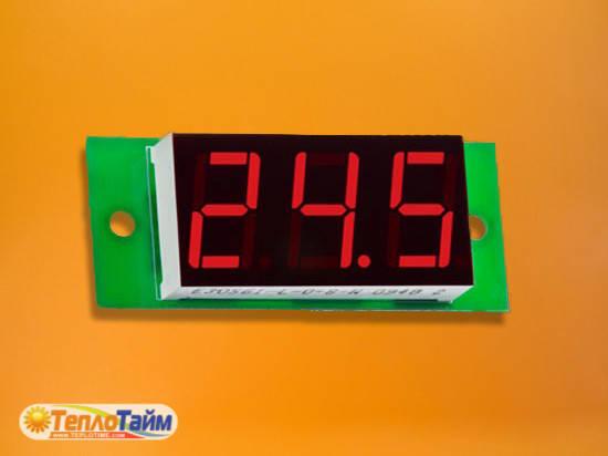 Вольтметр напруги постійного струму DigiTOP Вм-19/1, (вольтметр напряжения постоянного тока)