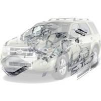 Детали кузова Ford Escape Форд Эскейп 2008--