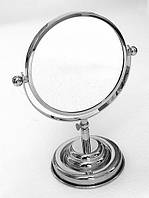 Оптическое настольное зеркало Pacini & Saccardi Oggetti Appoggio 30028 хром