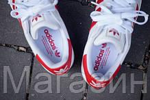 Женские кроссовки Adidas Superstar Адидас Суперстар белые, фото 3