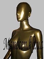 Манекен объемный женский в полный рост с головой аватара Сивоян бронза