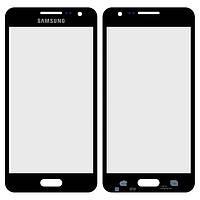 Защитное стекло корпуса для Samsung Galaxy A3 A300F / A300FU / A300H, черное, оригинал
