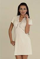 Ночная сорочка, домашняя одежда из вискозы De Lafense. Польша