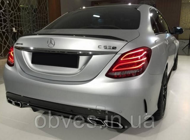 Спойлер Mercedes C-class W205 (стиль AMG)