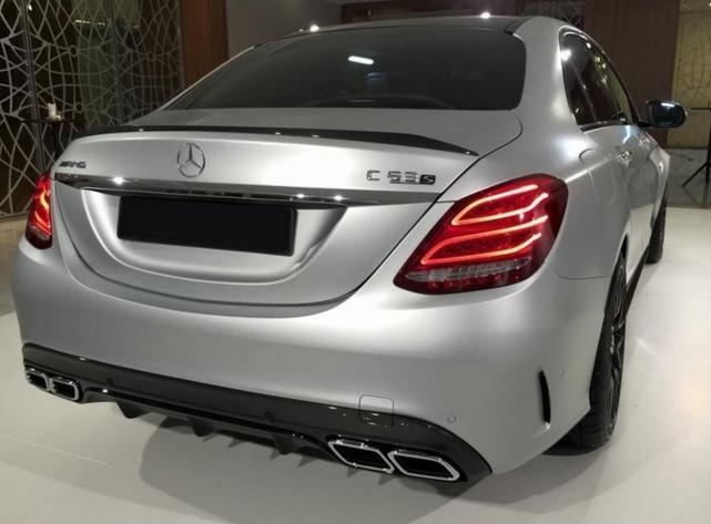 Спойлер Mercedes C-class W205 (стиль AMG), фото 1