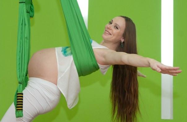 Обучение тренеров аэро йоги на курсах Олимпия