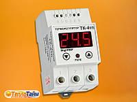 Одноканальний циф.терморегулятор DigiTOP ТК-4тп з датчиком DS18B20, (одноканальный циф. терморегулятор)