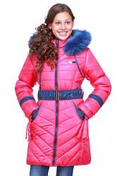Зимняя верхняя одежда на девочку