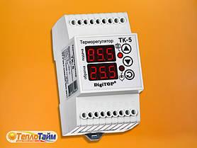 Одноканальный циф.терморегулятор DigiTOP ТК-5в с датчиком DS18B20