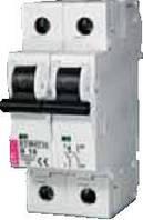 Автоматический выключатель ETIMAT 6  1p+N D 50А (6 kA)