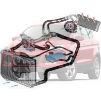Система охлаждения Ford Escape Форд Эскейп 2013--