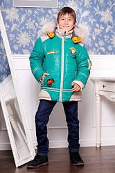 Зимняя верхняя одежда на мальчика